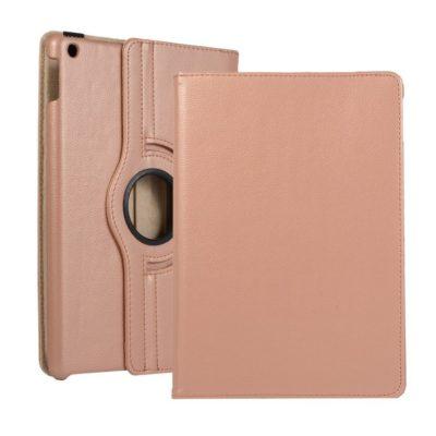 Apple iPad 10.2″ (2019) 360° Kääntyvä Kotelo Ruusukulta