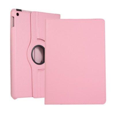 Apple iPad 10.2″ (2019) 360° Kääntyvä Kotelo Vaaleanpunainen