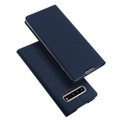 Samsung Galaxy S10 5G Kotelo Dux Ducis Tummansininen