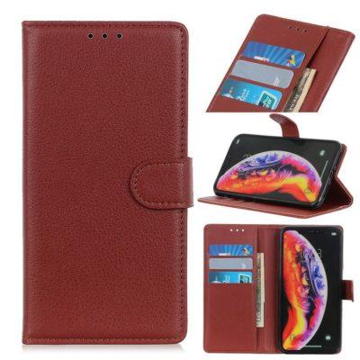 Samsung Galaxy S10 5G Suojakotelo Ruskea Lompakko