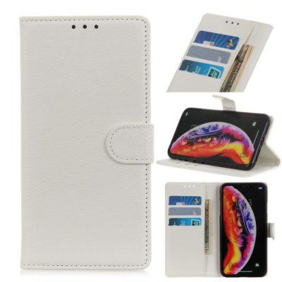 Samsung Galaxy S10 5G Suojakotelo Valkoinen Lompakko