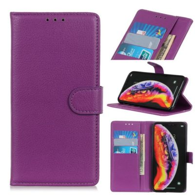 Samsung Galaxy S10 5G Suojakotelo Violetti Lompakko