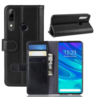 Huawei Honor 9X Suojakotelo Musta Nahka