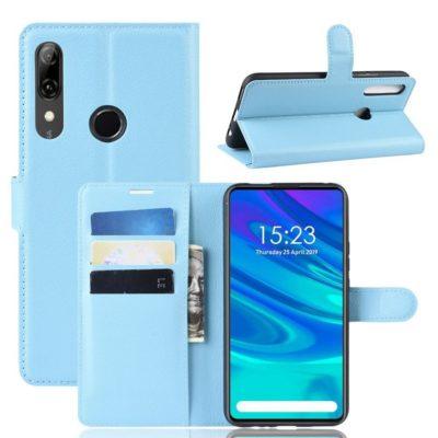 Huawei Honor 9X Suojakotelo Vaaleansininen Lompakko