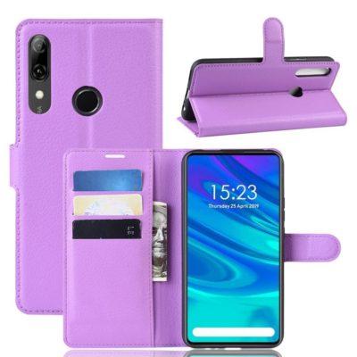 Huawei Honor 9X Suojakotelo Violetti Lompakko