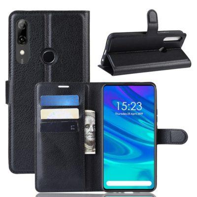 Huawei P Smart Z Kotelo PU-Nahka Musta