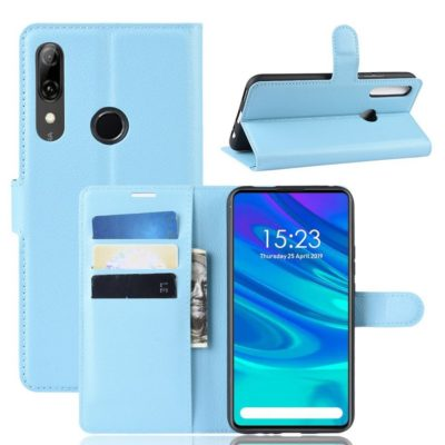 Huawei P Smart Z Kotelo PU-Nahka Vaaleansininen