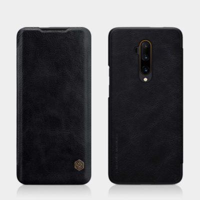 OnePlus 7T Pro Suojakotelo Nillkin Qin Musta