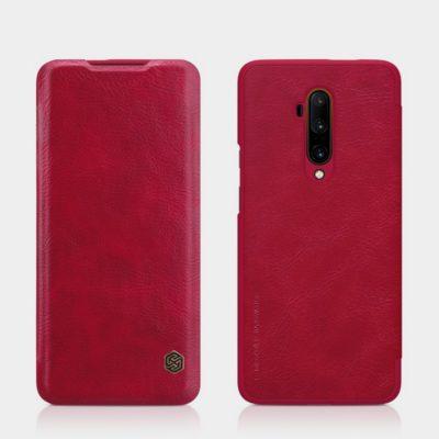 OnePlus 7T Pro Suojakotelo Nillkin Qin Punainen