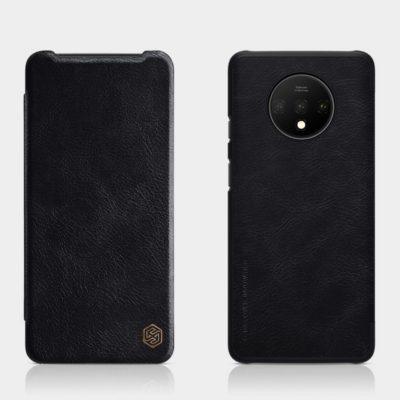 OnePlus 7T Suojakotelo Nillkin Qin Musta
