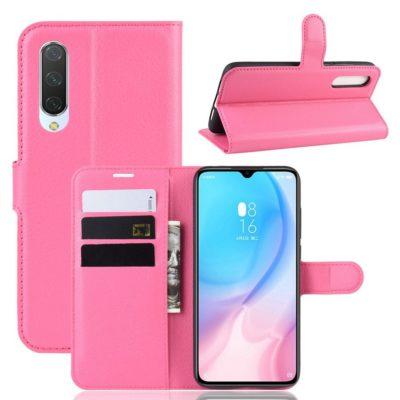 Xiaomi Mi 9 Lite Suojakotelo PU-Nahka Pinkki