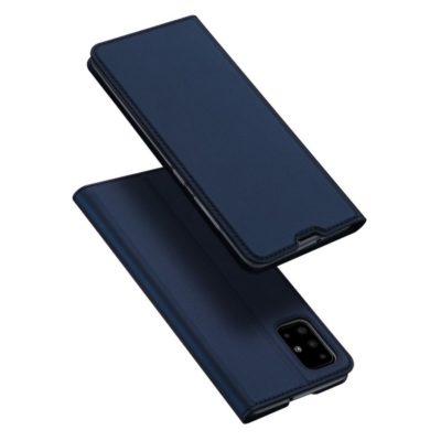 Samsung Galaxy A71 Kotelo Dux Ducis Tummansininen