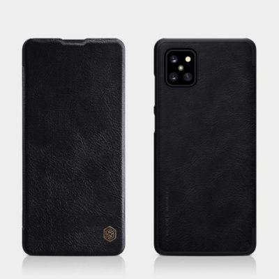 Samsung Galaxy Note 10 Lite Kotelo Nillkin Qin Musta