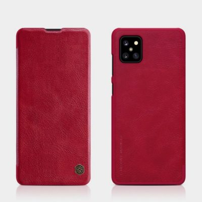 Samsung Galaxy Note 10 Lite Kotelo Nillkin Qin Punainen