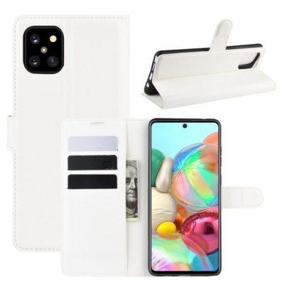 Samsung Galaxy Note 10 Lite Lompakkokotelo Valkoinen