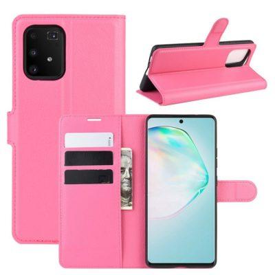 Samsung Galaxy S10 Lite Lompakkokotelo Pinkki