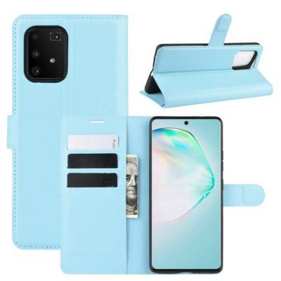 Samsung Galaxy S10 Lite Lompakkokotelo Vaaleansininen