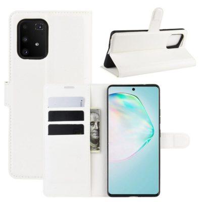 Samsung Galaxy S10 Lite Lompakkokotelo Valkoinen