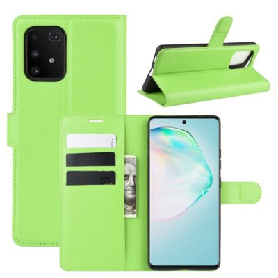 Samsung Galaxy S10 Lite Lompakkokotelo Vihreä