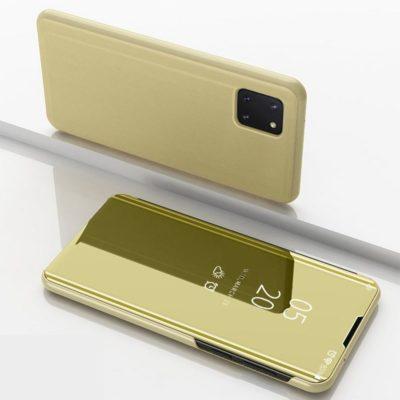 Samsung Galaxy Note 10 Lite Kotelo Peilipinta Kulta