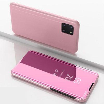 Samsung Galaxy Note 10 Lite Kotelo Peilipinta Ruusukulta