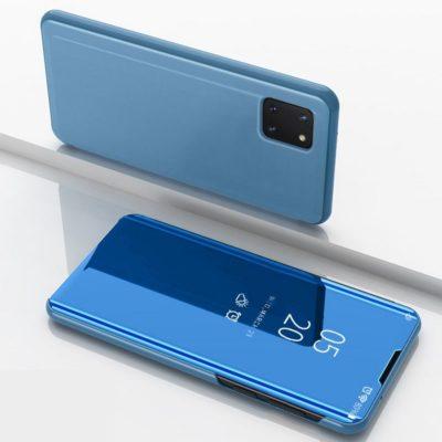Samsung Galaxy Note 10 Lite Kotelo Peilipinta Vaaleansininen