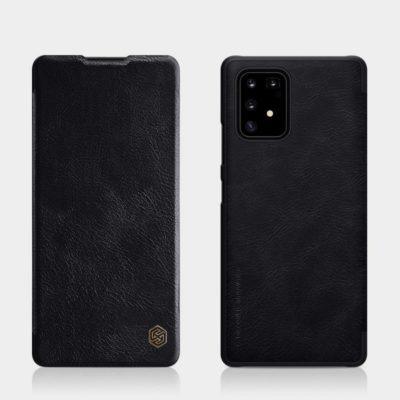 Samsung Galaxy S10 Lite Kotelo Nillkin Qin Musta