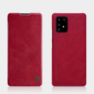 Samsung Galaxy S10 Lite Kotelo Nillkin Qin Punainen