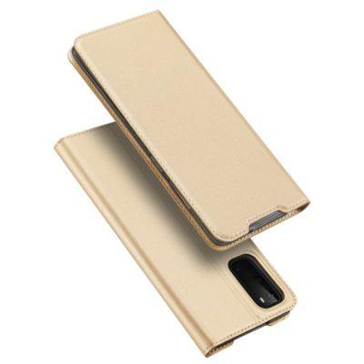 Samsung Galaxy S20 5G Kotelo Dux Ducis Kulta