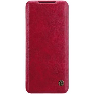Samsung Galaxy S20 5G Kotelo Nillkin Qin Punainen