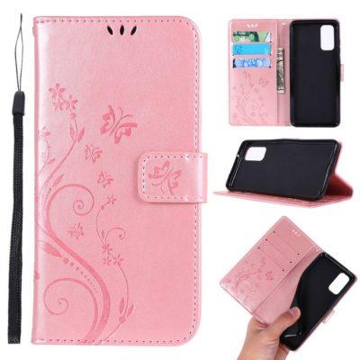 Samsung Galaxy S20 5G Suojakotelo Kukka Ruusukulta