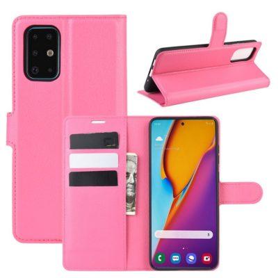 Samsung Galaxy S20+ 5G Kotelo PU-Nahka Pinkki