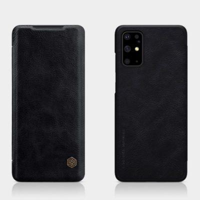 Samsung Galaxy S20+ 5G Kotelo Nillkin Qin Musta