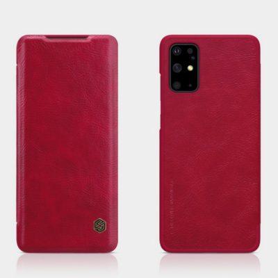 Samsung Galaxy S20+ 5G Kotelo Nillkin Qin Punainen