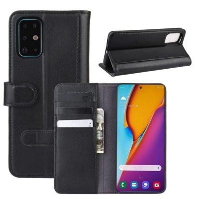Samsung Galaxy S20+ 5G Nahkakotelo Musta