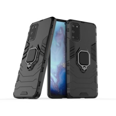 Samsung Galaxy S20+ 5G Sormus Suojakuori Musta