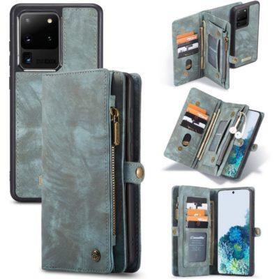 Samsung Galaxy S20 Ultra 5G Lompakko Caseme Sininen