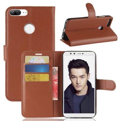 Huawei Honor 9 Lite Lompakkokotelo Ruskea