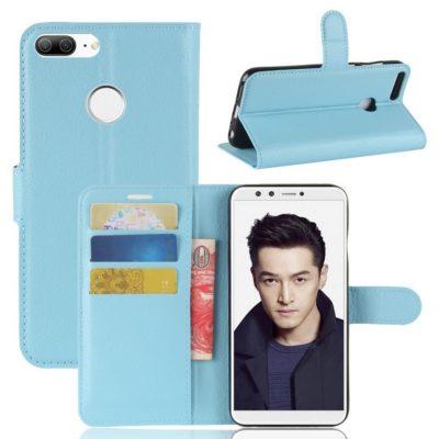 Huawei Honor 9 Lite Lompakkokotelo Vaaleansininen