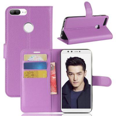 Huawei Honor 9 Lite Lompakkokotelo Violetti