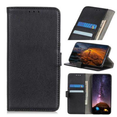 Huawei P40 Lite E Kotelo Musta Lompakko