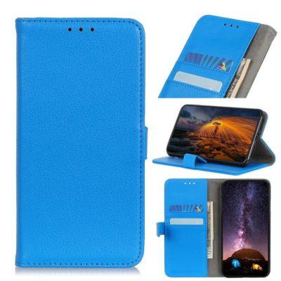 Huawei P40 Lite E Kotelo Sininen Lompakko