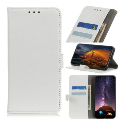Huawei P40 Lite E Kotelo Valkoinen Lompakko