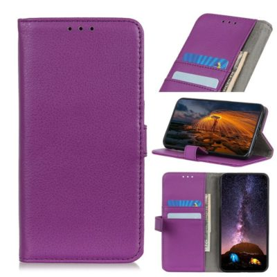 Huawei P40 Lite E Kotelo Violetti Lompakko