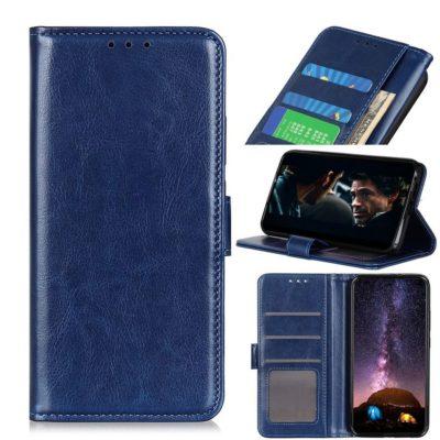 Huawei P40 Lite E Lompakkokotelo Sininen