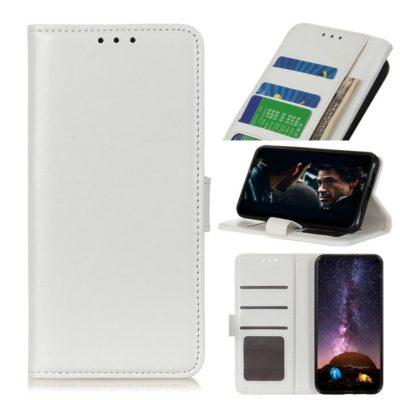 Huawei P40 Lite E Lompakkokotelo Valkoinen