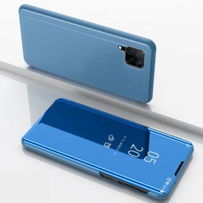 Huawei P40 Lite Kotelo Peilipinta Vaaleansininen