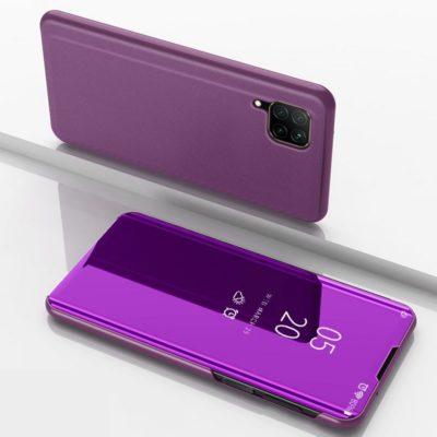 Huawei P40 Lite Kotelo Peilipinta Violetti