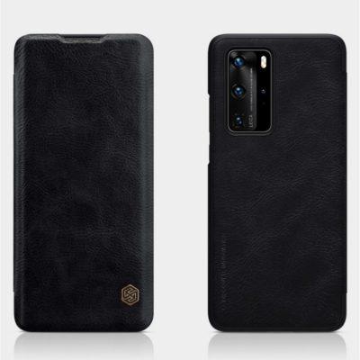 Huawei P40 Pro Suojakotelo Nillkin Qin Musta
