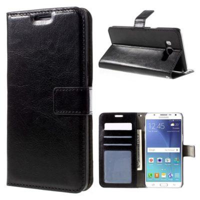 Samsung Galaxy J5 (2016) Lompakkokotelo Musta
